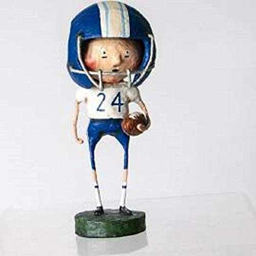 Sir Holiday Touchdown Timmy, Blue Team Football Figurine by ESC -