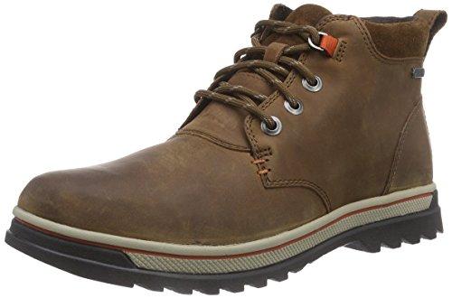 Clarks RipwayHill GTX Herren Kurzschaft Stiefel Braun (Tan Leather)