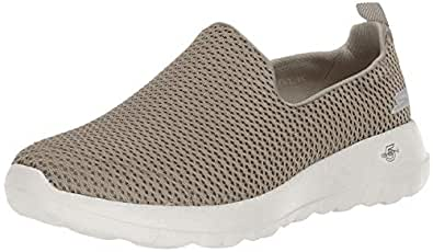 Skechers GO Walk Joy Women's Casual Shoes, Taupe, 5 US