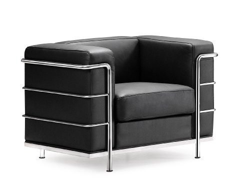 Zuo Fortress Arm Chair  Black
