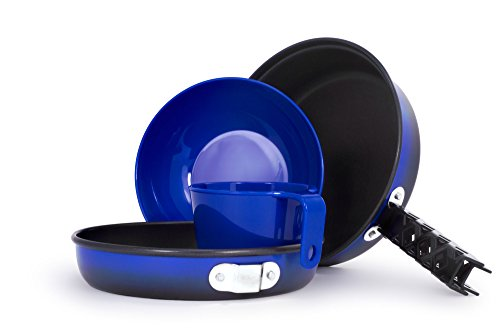 GSI Outdoors - Bugaboo Mess Kit, Camping Cookset, Superior Backcountry Cookware Since 1985