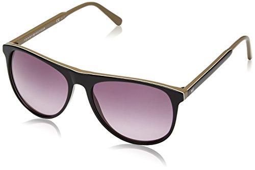 Tommy Hilfiger Unisex Oval Sonnenbrille 1233/S, Gr. 56 Mm, Mehrfarbig