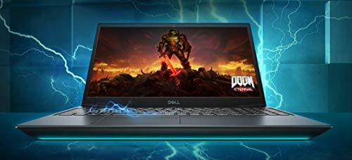 "2021 Flagship Dell G5 15 Gaming Laptop Computer 15.6"" Full HD Display 10th Gen Intel Hexa-Core i7-10750H 32GB DDR4 1TB SSD 4GB GTX 1650 Ti Backlit Thunderbolt HDMI Webcam WiFi Win 10 WeeklyReviewer"