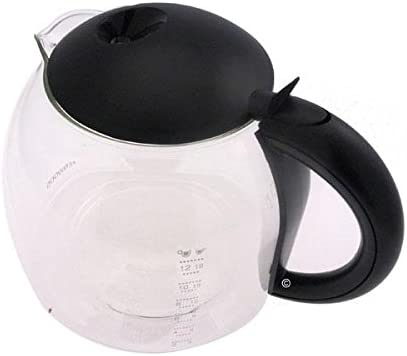 Kenwood - Jarro negro con tapa cm375 cm379 cm470 cm379 cm475 cafetera: Amazon.es: Hogar