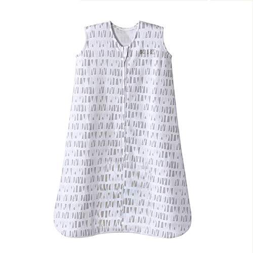 Halo Sleepsack Cotton Wearable Blanket, Squares and