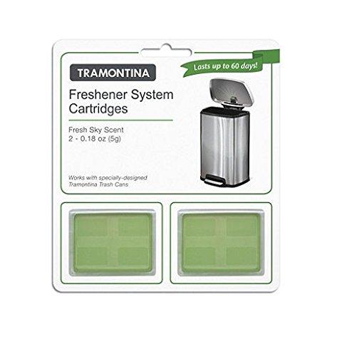 2 pk Tramontina Freshener System Cartidges Fresh Sky Scent - Last up to 60 Days