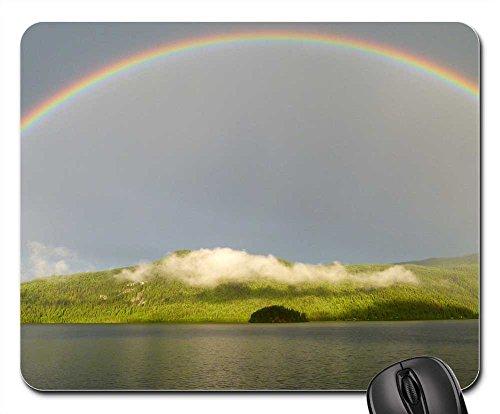 Mouse Pad - Rainbow Canim Lake British Columbia - Rates Usps Canada