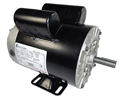2 HP SPL 3450 RPM M56 Frame 115/230V Air Compressor Motor - Century # B381