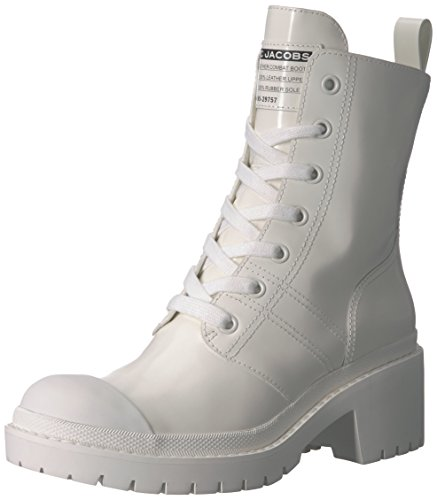Bristol Laced UP Boot Ankle, White, 38 M EU (8 US) ()