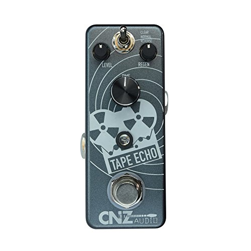 CNZ Audio Tape Echo Guitar Effects Pedal, True Bypass