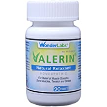 Leg Cramps, Muscle Cramps - All-Natural Relaxant Valerin - 90 Tablets
