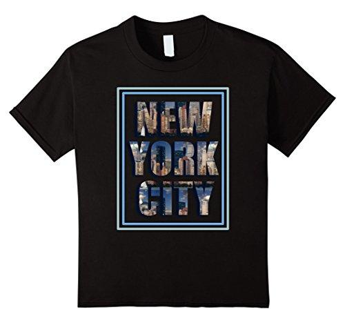 Kids NEW YORK CITY Skyline T Shirt Hot Design Trending T Shirt 4 - Broadway New Avenue York City