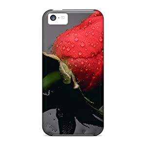 Awesome In The Rain Flip Case With Fashion Design For Iphone 5c