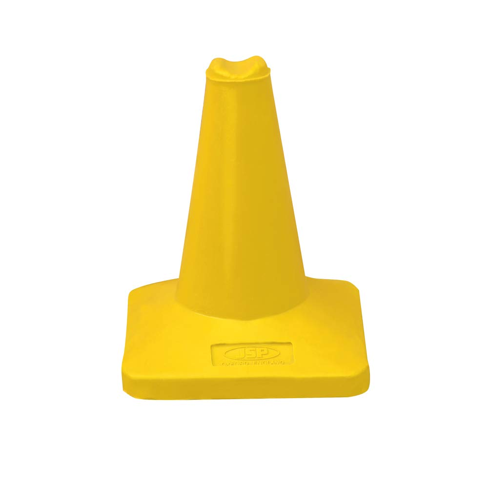 JSP JCA020-020-200 30cm Sports Cone Sand Weighted Yellow