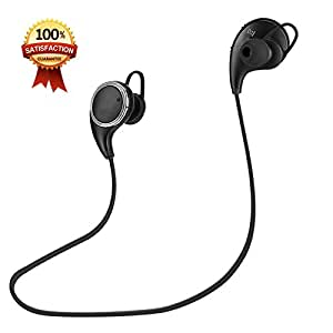 C&OL Bluetooth Headphones,COL V4.1 Wireless Sport Stereo In-Ear Noise Cancelling Sweatproof Headset with APT-X/Mic