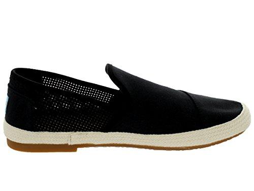 Toms Mens Sabados Black Freetown Casual Shoe 9 Men US Y3rg8