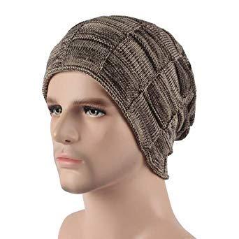 59664ff9ac2 Skullies Beanies Men Winter Hats for Men Women Knitted Hat Bonnet Fashion Caps  Warm Baggy Mask Brand Cap Beanie Men s Hat 2018  Amazon.in  Beauty