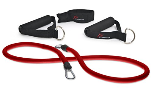Band Press (ProSource Stackable Exercise Resistance Band Tube Cords (Red))