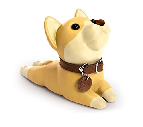 Cute Dog Door Stopper, Bulldog (khaki) by besttoyhome