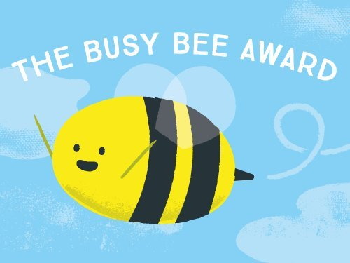Busy Bee Award egift card link image