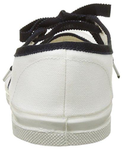 Bensimon Tennis Babies Gros Grain - Botas Mujer Blanc (Blanc)