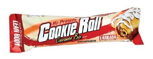 Labrada Salut-Protein Roll Bar Cookie aux pépites de chocolat glacé 12 Bars