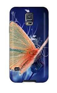 [LrrXvIo9174TYTFe] - New Butterfly Protective Galaxy S5 Classic Hardshell Case