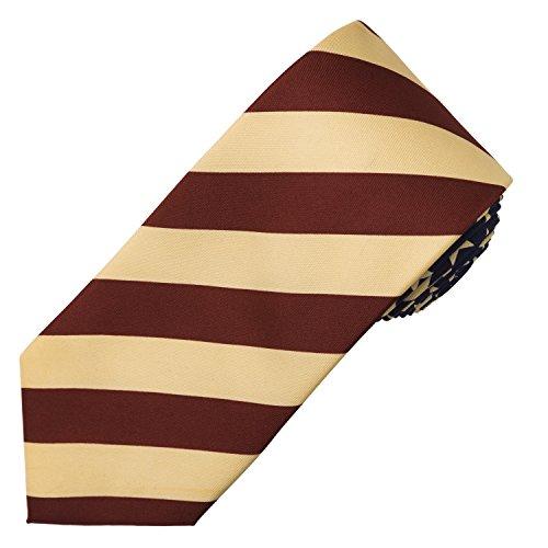 John William Antique Striped American Flag USA Patriotic Red White & Blue Necktie