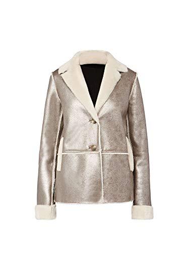 Donna Metal Geox Powder Giubbetto W8420s Abbigliamento F5173 Oro PBW1wFqT