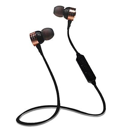 Auriculares inalámbricos Bluetooth deportivos estéreo, resistentes al sudor, para ejercicio, gimnasio, ciclismo