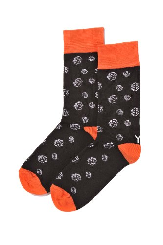 Yo Sox Golf Balls and Tees – Funky Men's Crew Socks for Dress or Casual Wear Size 7-12