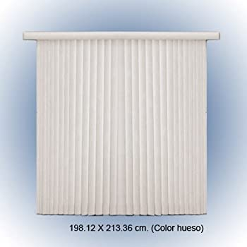 Amazon Com Bali Blinds 78 Inch By 84 Inch Ribbed Vane