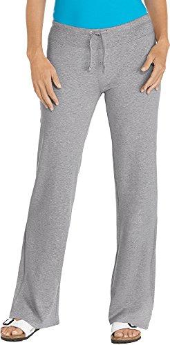 Coolibar UPF 50+ Women's Beach Pants - Sun Protective (Medium- Grey Heather)