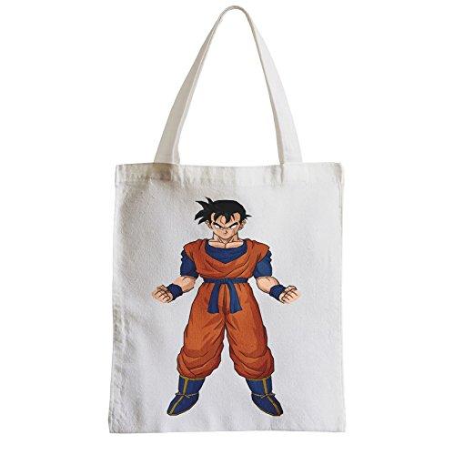 Grand Sac Shopping Plage Etudiant Dragon Ball San Gohan Adulte San Goku Anime Manga