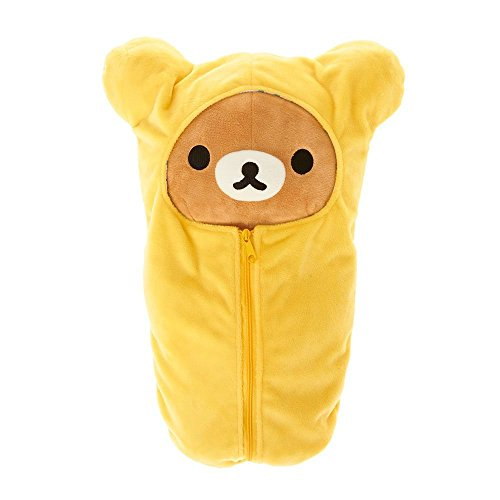 Rilakkuma in Yellow Sleeping Bag (Plush Sleeping Bags)