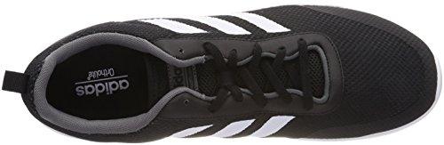 adidas CF Element Race, Chaussures de Running Compétition Homme, EU Noir (Core Black/Ftwr White/Grey Five F17 Core Black/Ftwr White/Grey Five F17)