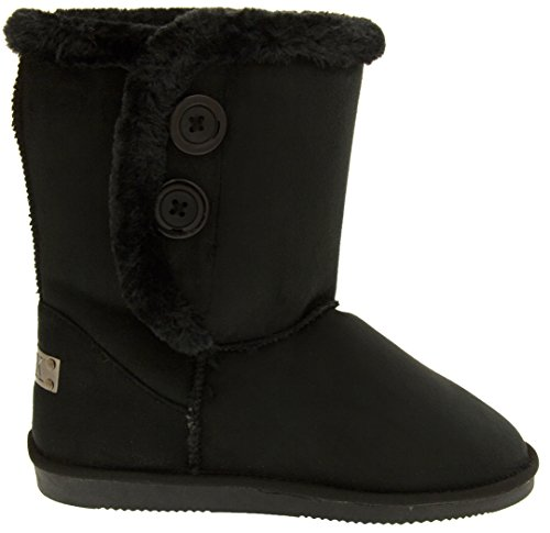 Footwear Studio Red Rock Womens Synthetic Slouch Boots Black B0csIl42sU