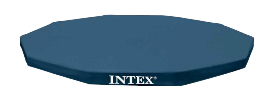 Intex 10-Foot Round Metal Frame Pool Cover