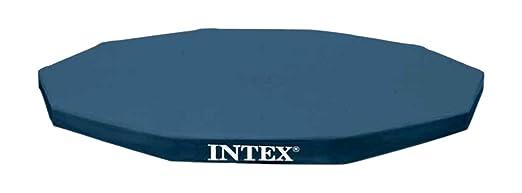 183 opinioni per Intex Telo di Copertura Estivo per Piscine Fuoriterra Frame Rotonde da 305 cm