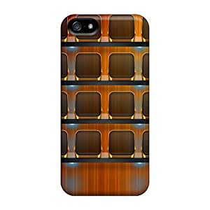 Awesome Design Clear Hd Shelf Hard Case Cover For Iphone 5/5s