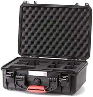 LEM2400-01 HPRC Hard Case w//Foam for Leica M Black 15.94 x 12.99 x 6.69 in