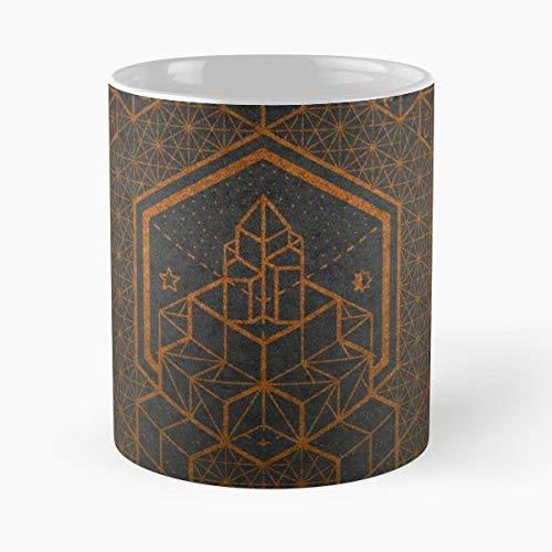 - Yoga Mandala Chakra Sacred Geometry - Best Gift Coffee Mugs 11 Oz Father Day