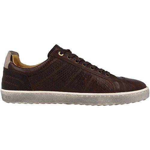 Pantofola dOro Canaverse Cocodrillo Uomo Low After Dark 10163049IQU, Turnschuhe after dark (10163049.IQU)