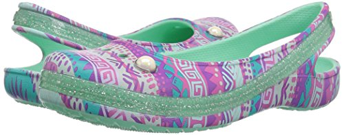 Pictures of Crocs Kids' Genna II Graphic Sparkle Sling- 4