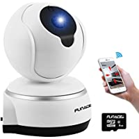 FunAce WiFi IP Wireless Ultra HD Camera with 8 GB MicroSD Card
