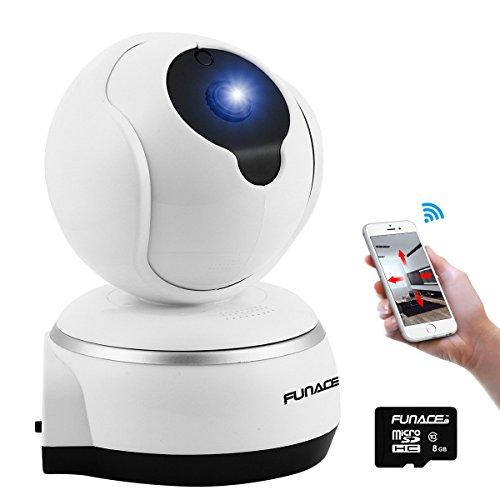 FunAce WiFi IP Wireless Ultra HD Camera with 8 GB MicroSD Card