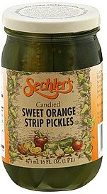 Orange Pickles (Sechlers Pickle Candied Swt Orng Strip)
