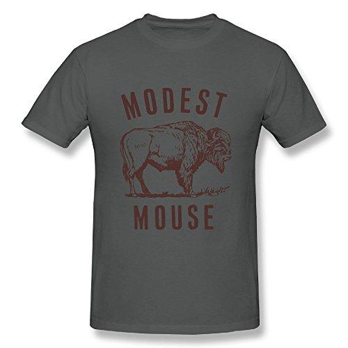Modest Mouse T-shirt - UrsulaA Men's Casual Modest Mouse T Shirt Asphalt L