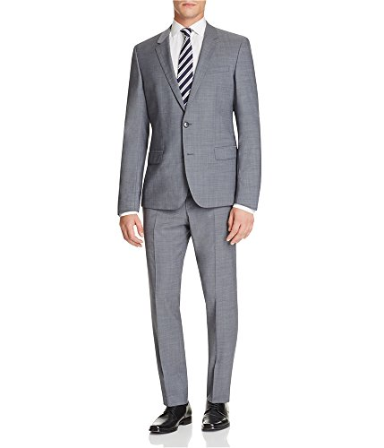 Hugo Boss Mens Genuis Two Button Suit Grey 46x35 Hugo Boss Two Button Suit