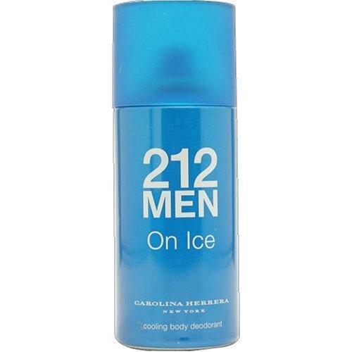 Price comparison product image 212 On Ice By Carolina Herrera For Men. Cooling Body Deodorant Spray 5 OZ